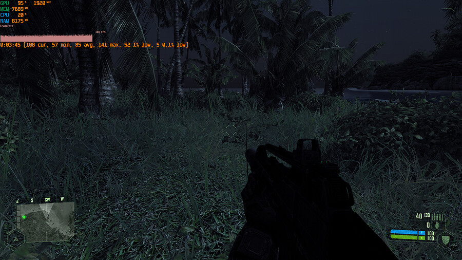 Shadow Ultra Crysis 1440p Settings